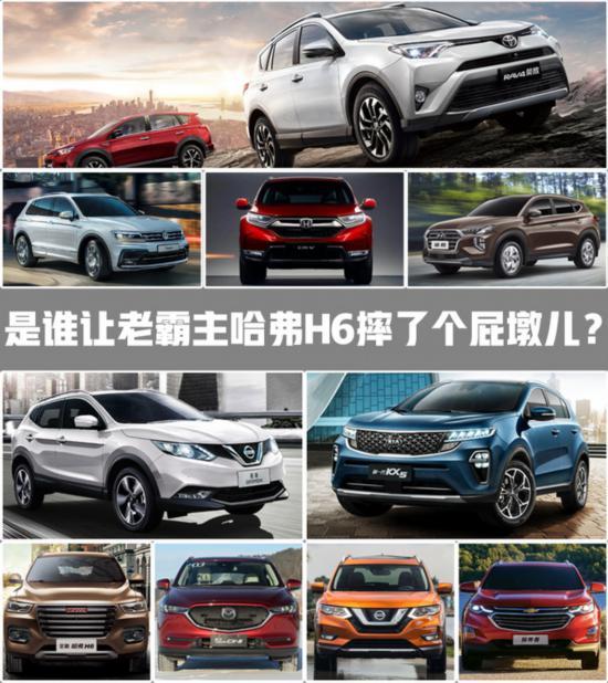 全球10大销量最高SUV 哈弗H6入围