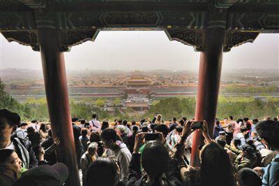 """小长假北京夜间餐饮消费同比增50%玉渊潭公园最""""吸人"""""""