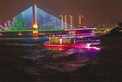 邕江夜游成为南宁旅游靓丽名片 已接待客流近2万人次
