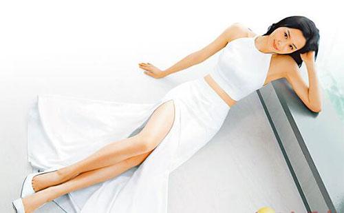 陳法拉靠均衡飲食保持身材稱平時不忌口