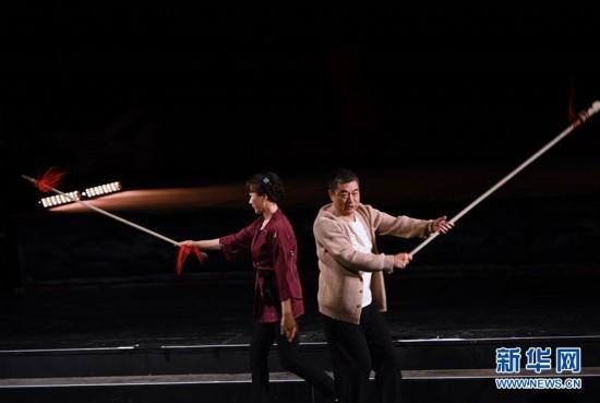 (文化)(2)原創話劇《連環計》在京上演