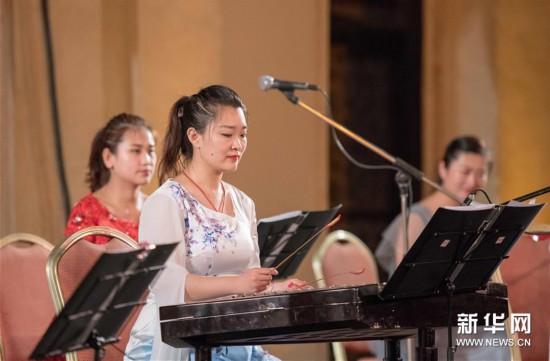 """(国际)(3)开罗歌剧院举办""""丝竹华韵""""中国民族音乐会"""