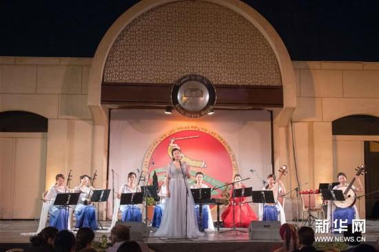 """(国际)(1)开罗歌剧院举办""""丝竹华韵""""中国民族音乐会"""