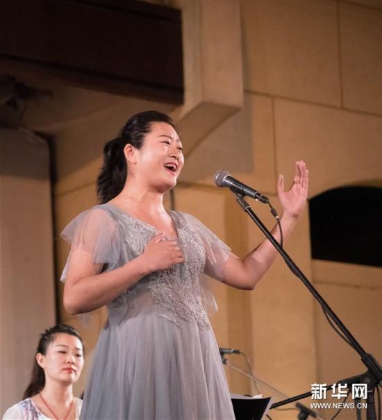 """(国际)(4)开罗歌剧院举办""""丝竹华韵""""中国民族音乐会"""