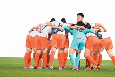 中国女足有一颗冠军心