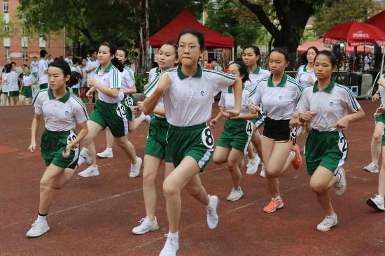 广州初中毕业生体育考试开考