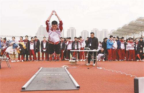 徐州市区中考体育开考 15050位考生参加考试