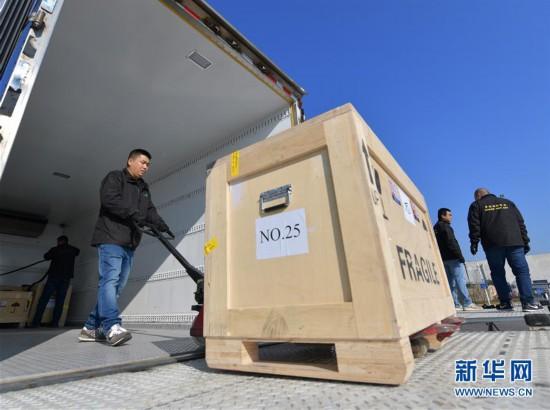 (文化)(2)意大利返还中国文物抵京