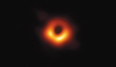 人类史上首张黑洞照片公布