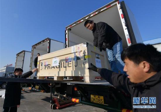 (文化)(3)意大利返还中国文物抵京
