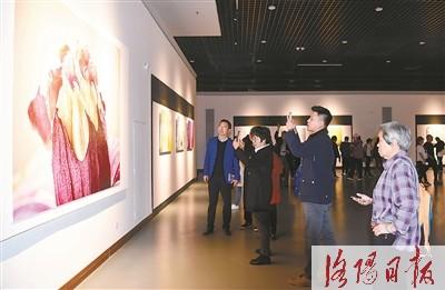 《国色・花语》王昆峰摄影作品展开展