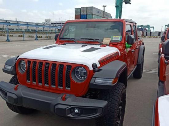 上海车展发布 Jeep Gladiator现已到港 车身设计硬派