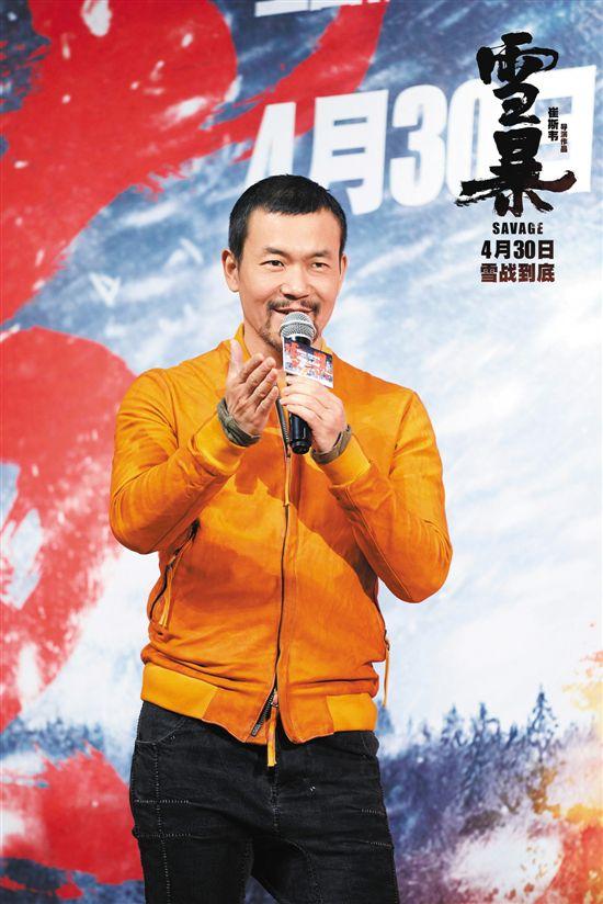 """《雪暴》首次挑战长发造型 廖凡圆了""""摇滚梦"""""""