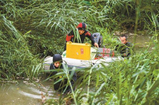 深圳全力搜救失踪人员
