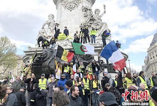 5000人参与巴黎第22轮示威参与人数又有所回升