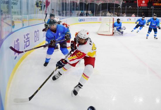 女子冰球世锦赛落幕 北京交出满意答卷