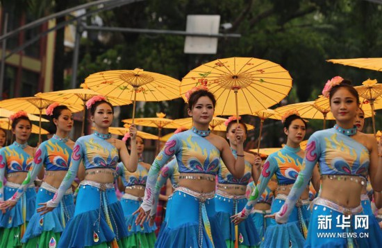(新华视界)(1)西双版纳民族民间文化巡游大展演