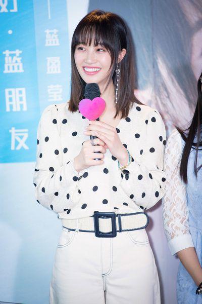 蓝盈莹生日会手语表演《我相信》