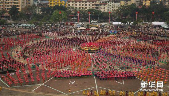 (新华视界)(5)西双版纳民族民间文化巡游大展演