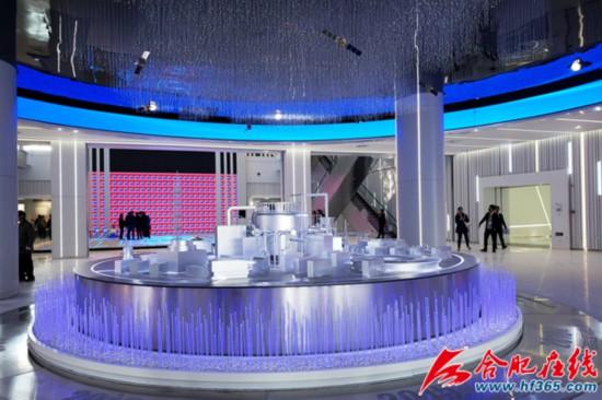 安徽创新馆总用地面积约150亩,建筑面积约8.2万平方米