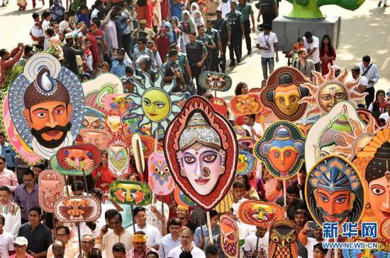 (国际)(2)孟加拉国迎来孟历新年
