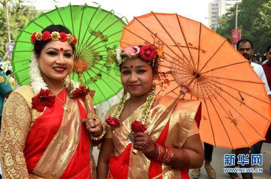 (国际)(5)孟加拉国迎来孟历新年