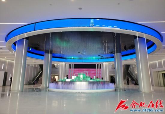目前安徽创新馆已完成室内装饰、设备安装等工作