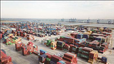 一季度澳门金沙赌场网址港货物吞吐量同比增长10%