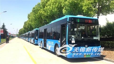 无锡年内实现新能源公交车全覆盖