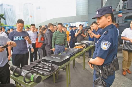 深圳开展反恐宣传教育活动