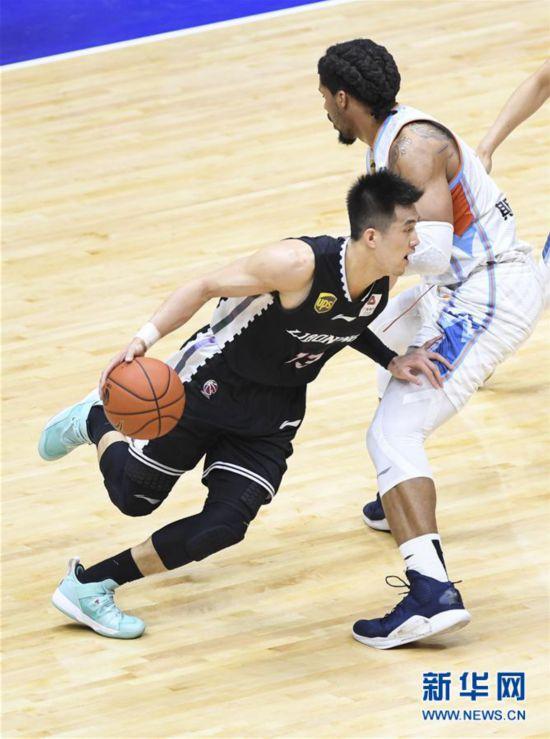 (體育)(4)籃球——CBA季后賽半決賽:新疆廣匯汽車隊晉級決賽