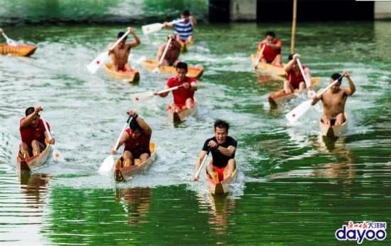 广州白云一条臭河涌变清变美了,成龙舟发烧友天堂!