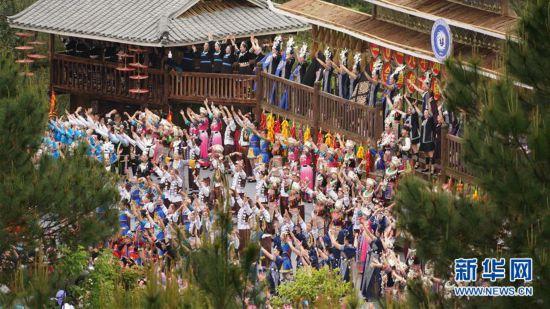 #(感悟非遗)(10)中国侗族大戊梁歌会在湘举行
