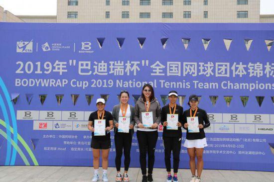 贵阳市网球运动员在2019年全国网球团体锦标赛上获佳绩