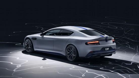 阿斯顿 马丁Rapide E全球首发 引领豪车新能源潮流