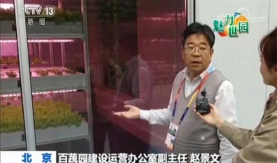 百蔬園建設運營辦公室副主任趙景文