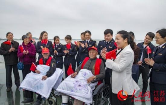 渡江战役胜利70周年 镇江海事局开展纪念活动