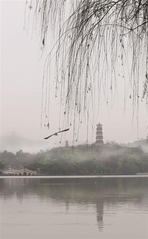 惠州西湖:烟雨迷蒙 如诗如画