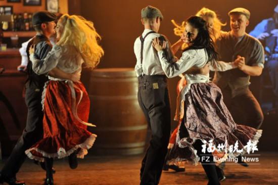 用耳朵聆听节拍之美 踢踏舞剧《爱尔兰传奇》5月来榕