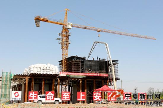 好消息!中卫南站黄河大桥工程建设又有新进展,预计年底主桥全线贯通