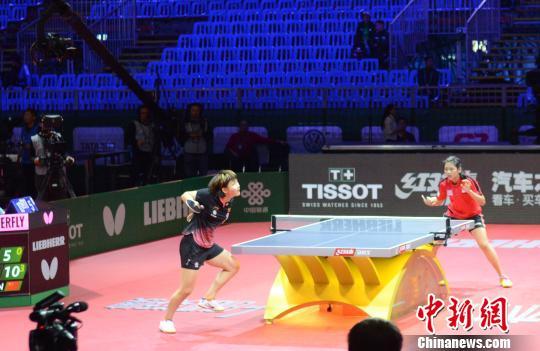 国乒女队五将晋级女单64强丁宁:不念过往享受比赛