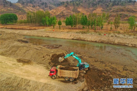 (環境)(1)河北遷西:治理礦區打造生態休閑公園