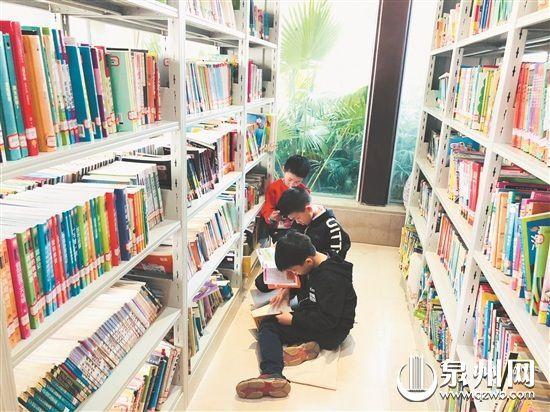 不断完善的阅读圈,让市民能就近享受读书的乐趣。