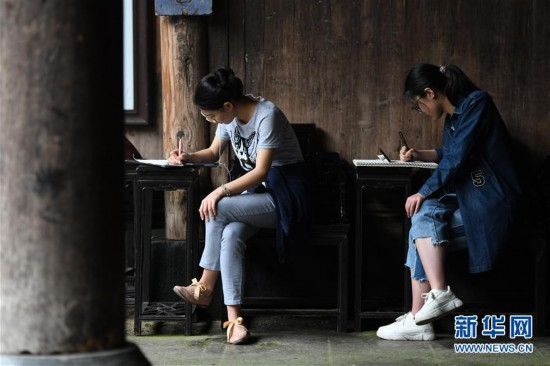 (社会)(5)皖南古村落 写生好去处
