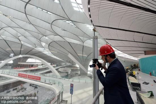 中外记者走进北京大兴国际机场【9】