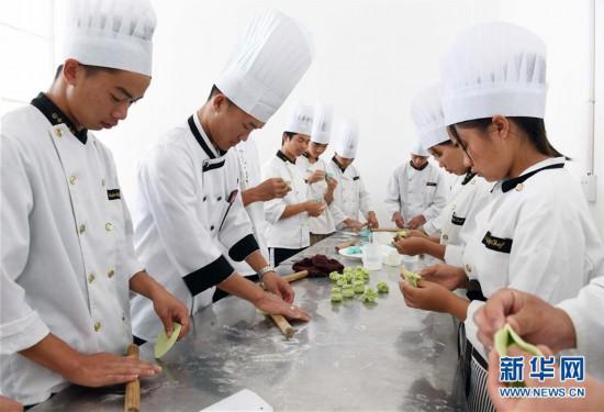 (教育)(1)云南砚山:特色教育助学生就业