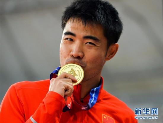 多哈亚锦赛:谢文骏男子110米栏打破赛会纪录并夺冠
