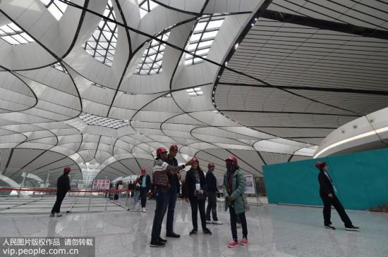 中外记者走进北京大兴国际机场【2】