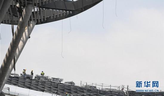 (經濟)(4)深圳國際會展中心建設進入沖刺階段