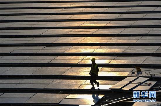 (經濟)(5)深圳國際會展中心建設進入沖刺階段